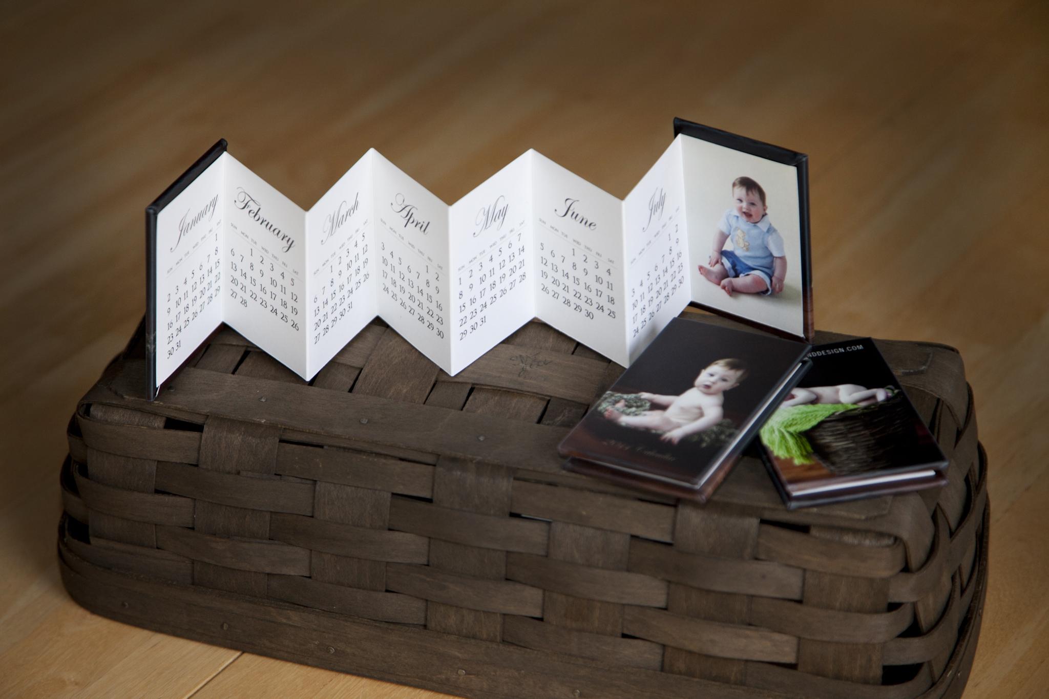 The Calendar Accordion is Here! | Posh Prints & Design